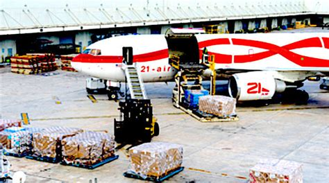 air freight company caught smuggling weapons