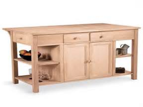 unfinished wood kitchen island unfinished kitchen island base kenangorgun