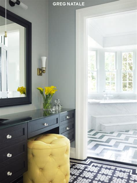 black and yellow bathroom ideas j adore decor black and yellow bathroom