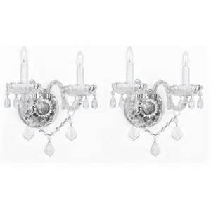Battery Operated Crystal Wall Sconces Cheap Battery Operated Wall Sconces Find Battery Operated