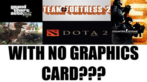 without graphic card pc gaming without a graphics card intel hd 4600