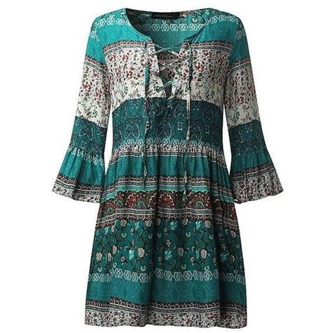 Irena Boho Ruffle Dress 45 best my polyvore finds images on blouses