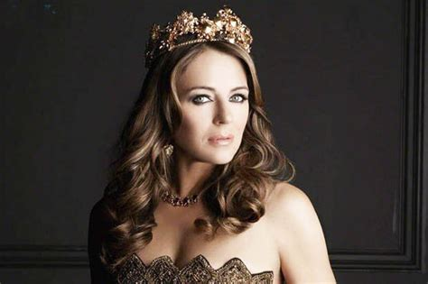Drama In Liz Hurleys by Liz Hurley Says The Royals Are Like Actors Who To