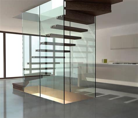 siller treppen treppe mit glaswand mistral glastreppen siller
