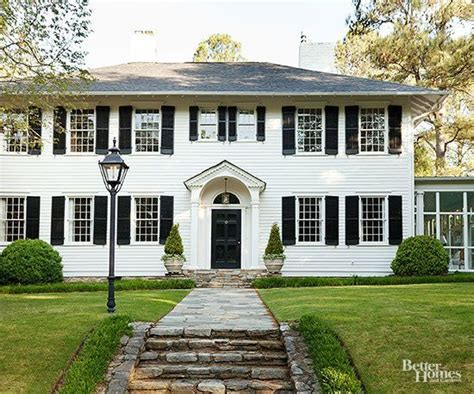 2 story colonial front makeover 2 story colonial style story colonial front makeover style house plans two
