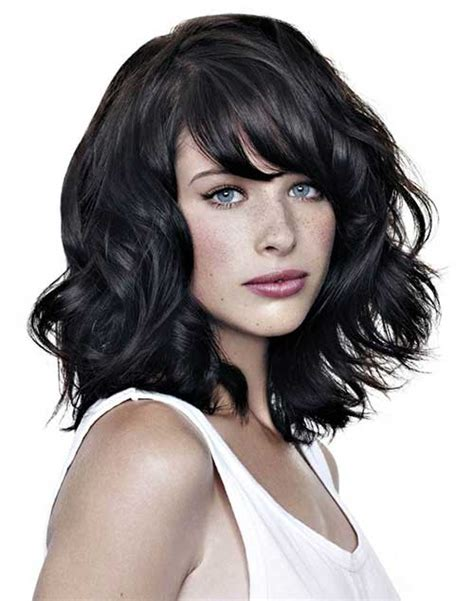 round face curly bob 10 short wavy hairstyles for round faces short
