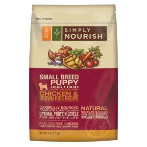 simply nourish puppy food