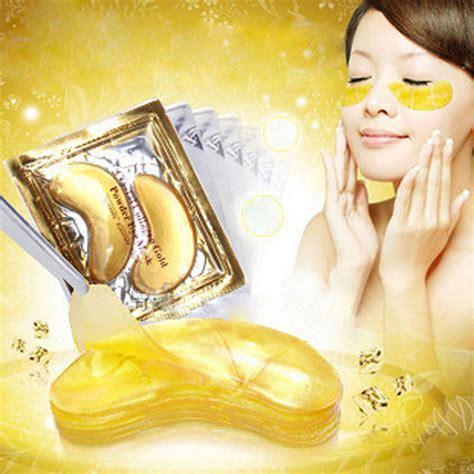 Gold Collagen Eye Mask 30pcs 15pair high quality gold collagen eye mask hotsale eye patches colageno