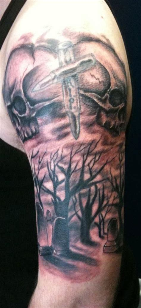 to the grave tattoo the of fate tattoos kris o neal trees n