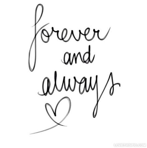Always And Forever forever and always pictures photos and images for