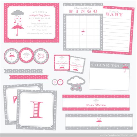 Baby Shower Website by Shower Baby Shower Collection Cherry Blossom Charm
