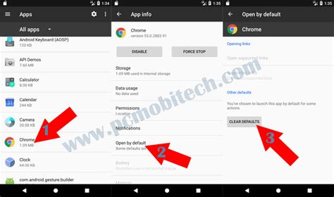 android reset open with app how to reset default apps on android oreo 8 0 nougat 7 1 1