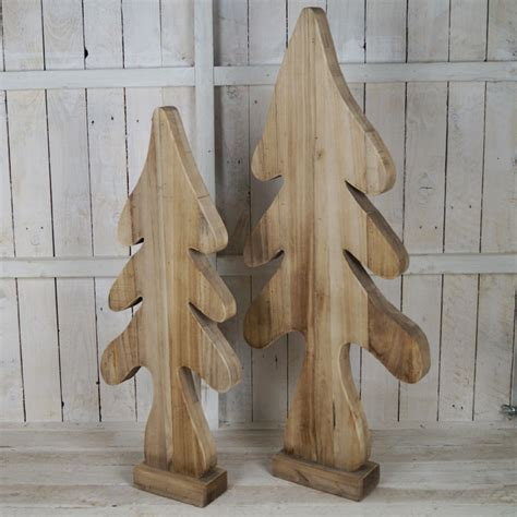 large wooden tree satchville gift co xmas hotel display