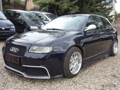Audi A3 1 8 Tuning by Prod 225 M Audi A3 1 8 T Xenon Rieger Tuning Prodej Audi A3