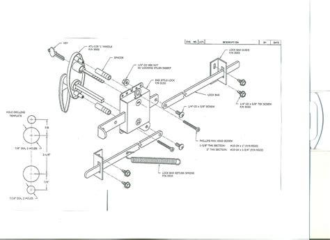 Garage Door Lock Kit Garage Door Lock Installation