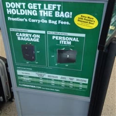 frontier baggage fees frontier airlines baggage service 7100 terminal dr