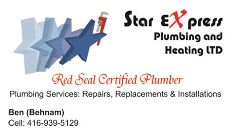 Express Plumbing And Heating by Gallery Business Card Designs Lawn Yard Bag Signs In