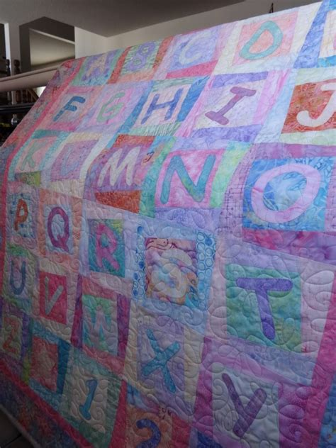 Inch By Inch Quilting by Inch By Inch Quilting Abc Baby Quilt