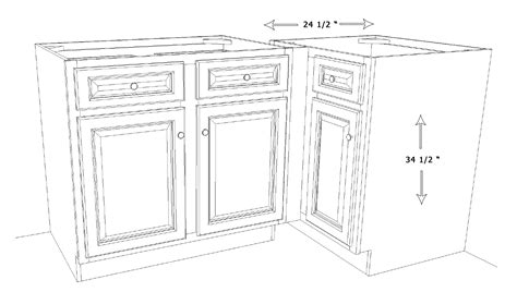kitchen base cabinet dimensions the importance of kitchen cabinet dimensions amazing