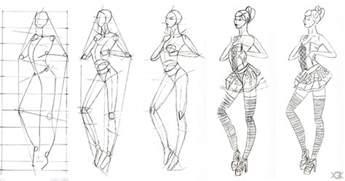 sketch of fashion design 2 step by step by vegakavgk on