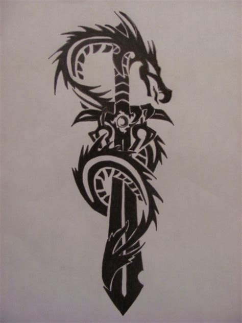 tribal sword tattoo sword tribal design 187 ideas