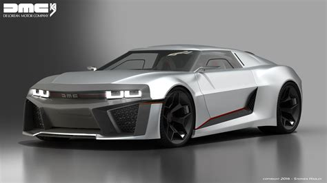 Delorean Dmc 12 Concept by 2017 Dmc Delorean Concept 3 By Sphinx1 On Deviantart