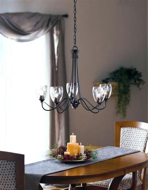 Dining Room Chandeliers With Shades Seeded Glass Chandelier Engageri