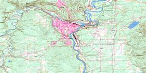 prince george bc map
