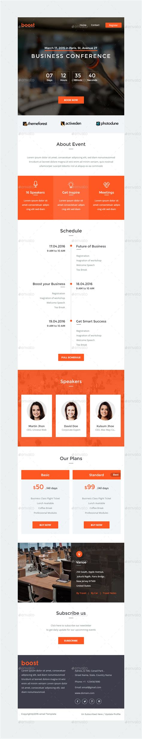 event newsletter template multi purpose e newsletter psd template boost by