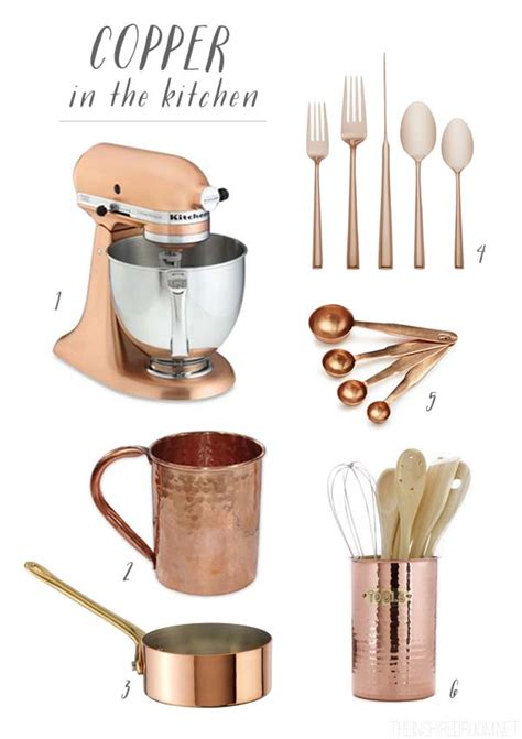 copper kitchen accessories collecting copper the inspired room