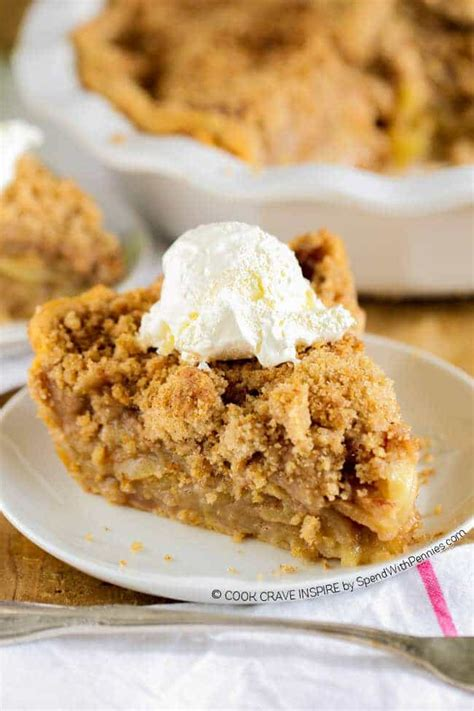 apple crumble best recipes the best apple crumb pie spend with pennies