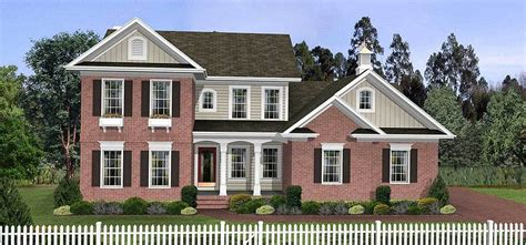 traditional two story house plans traditional two story home plan 2063ga architectural