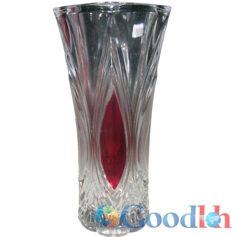 Vas Bunga Triangle Glass Vase vas bunga kaca 1509108