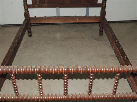 antique rope bed antique jenny lind spool rope bed from