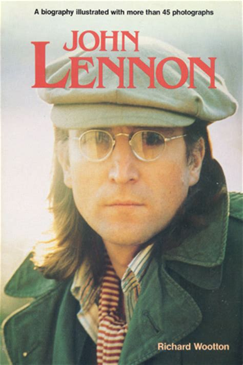 john lennon illustrated biography john lennon book by richard wootton 1985 at wolfgang s