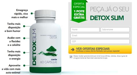 Slim Booster Slimming Detox by Detox Slim Capsulas Pre 231 O Lean Fit Health