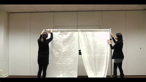 how to make pipe and drape backdrape set up guide pipe drape backdrop system with