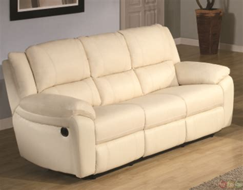 contemporary reclining sectional baxtor contemporary faux leather reclining sofa set