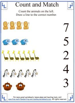 match com help section learn to count counting worksheets