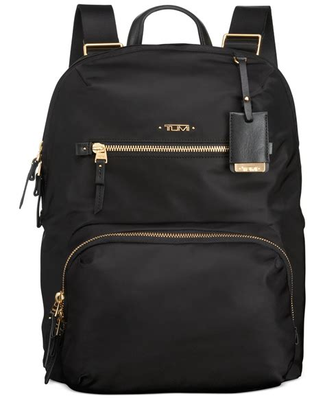 tumi voyageur halle backpack in black for lyst