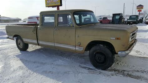 International 4 Door Truck by 1971 International Harvester 4 Door Classic