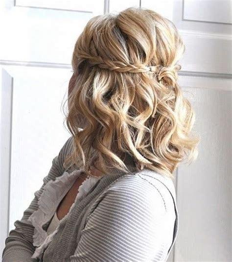 Modele De Coiffure Pour Cheveux Mi by Coiffure Cheveux Mi Ceremonie Coiffure Noel Enfant