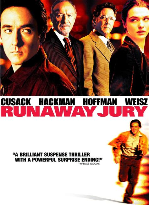 Runaway 1999 Review And Trailer by Runaway Jury Trailer Reviews And More Tvguide