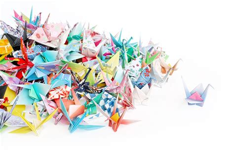Pre Made Origami Cranes - pre made origami cranes 28 images in july origami