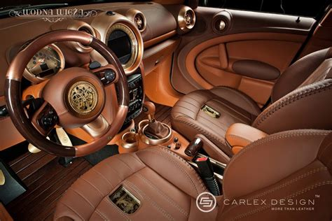 Steaming Car Interior by Steunk Mini Countryman Autoevolution