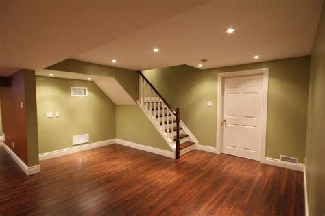 interior paint colors for basements