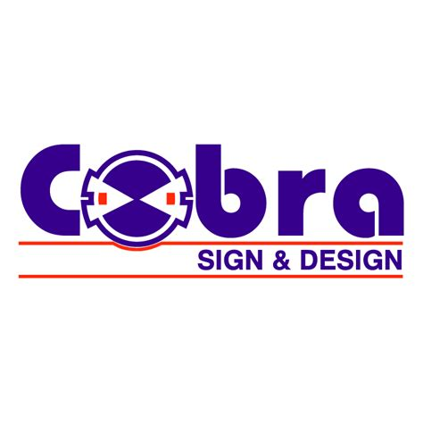 cobra sign e design free vector 4vector