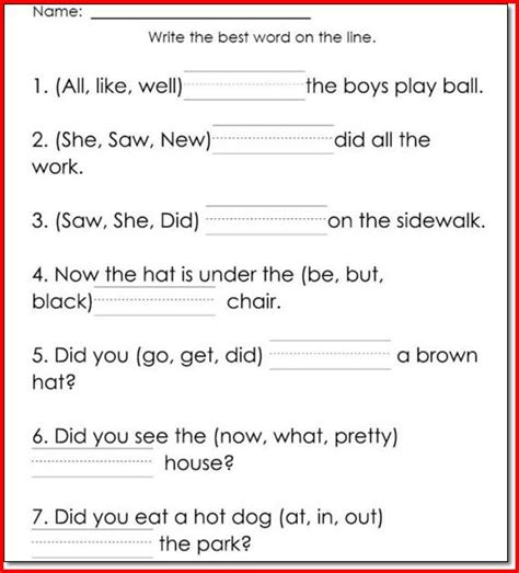 Grade Reading Worksheets Free by Printables Printable 1st Grade Reading Worksheets