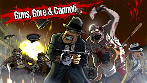Guns, Gore & Cannoli Screens & Artwork Released