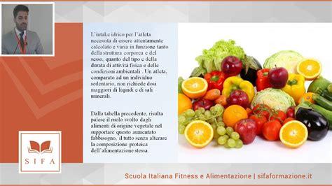 alimenti vegetali alimenti vegetali ruolo fisiologico nell esercizio fisico